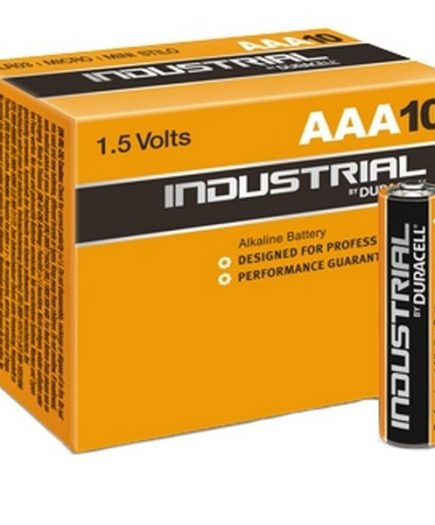 xekios Piles Alcalines DURACELL Industrial DURINDLR3C10 LR03 AAA 1.5V (10 pcs)