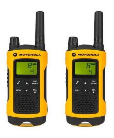 xekios Talkie-walkie Motorola TLKR T80 10 km LCD 16 h NiMH Noir Jaune