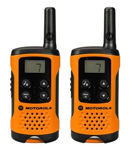 xekios Talkie-walkie Motorola TLKR T41 4 km LCD 16 h AAA Noir Orange