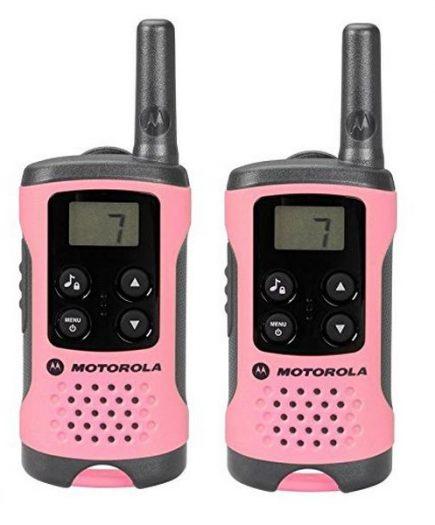 xekios Talkie-walkie Motorola TLKR T41 4 km LCD 16 h AAA Rose