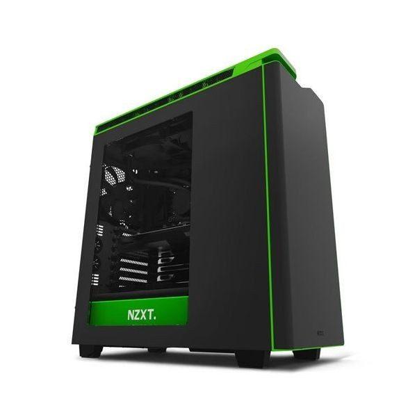 xekios NZXT Semitower H440 Boîte noire/verte