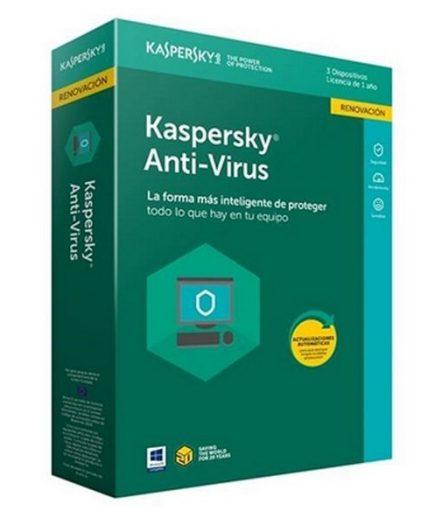 xekios Antivirus Maison Kaspersky 54035 3L/1A RN