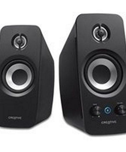 xekios Haut-parleurs de PC Creative Technology T15F-51MF1670AA000 2.0 Bluetooth BasXPort Wireless Noir