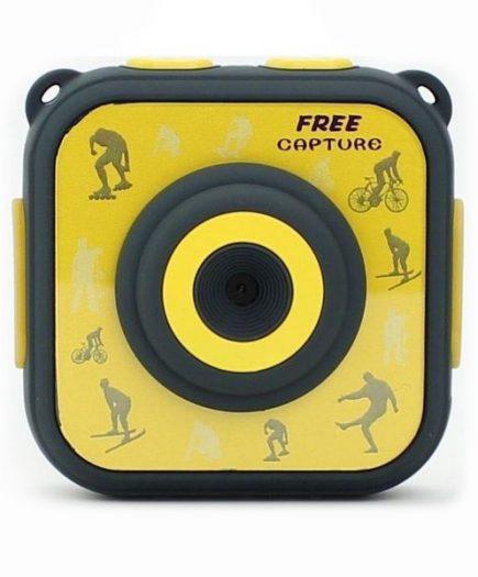 xekios Caméra Sportive avec Accessoires Denver Electronics ACT-1303 1280 x 720 HD Jaune
