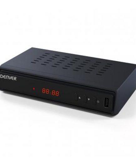 xekios Récepteur TNT Denver Electronics DTB-137H USB Noir