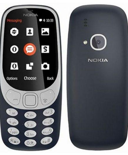 xekios Téléphone portable Nokia 3310 2,4 TFT Radio FM Bluetooth 1200 mAh Bleu