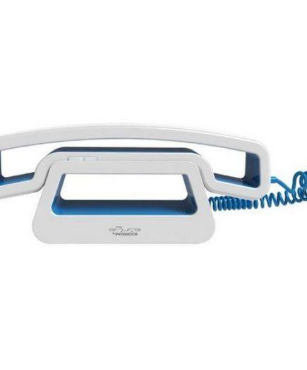 xekios Casque avec Base pour Smartphones ePure CH01 Bleu Blanc