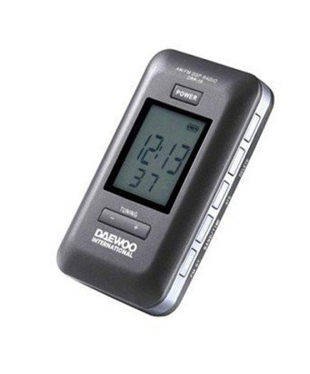 xekios Radio numérique portable Daewoo DRP-18B Noir
