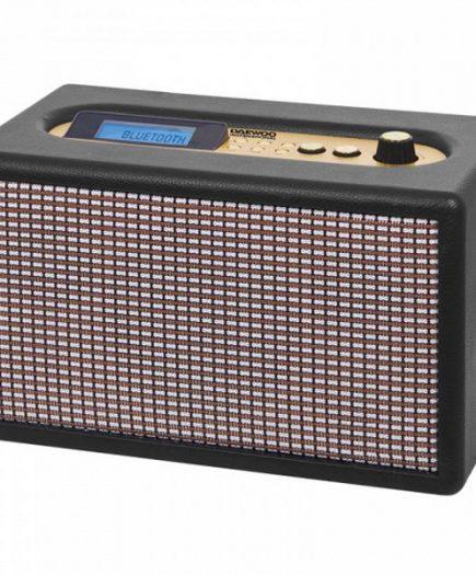 xekios Enceinte Bluetooth Sans Fil Daewoo DRP-137 USB 25W Radio Noir