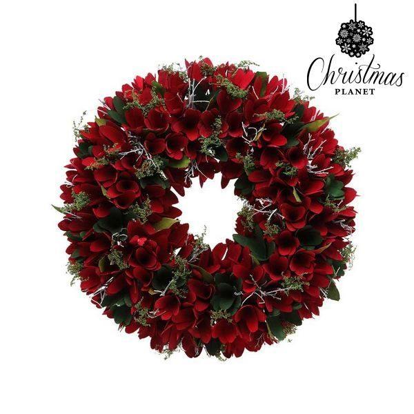 xekios Couronne de Noël Christmas Planet 875 Rouge