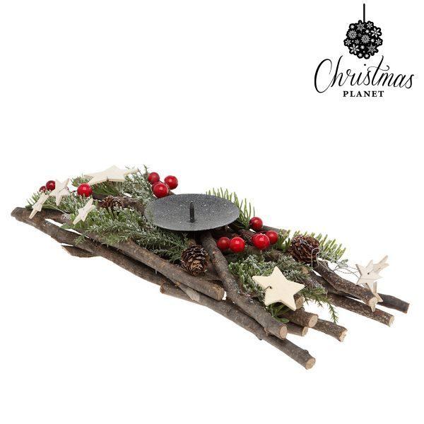 xekios Bougeoir Christmas Planet 2428 Noël Bois