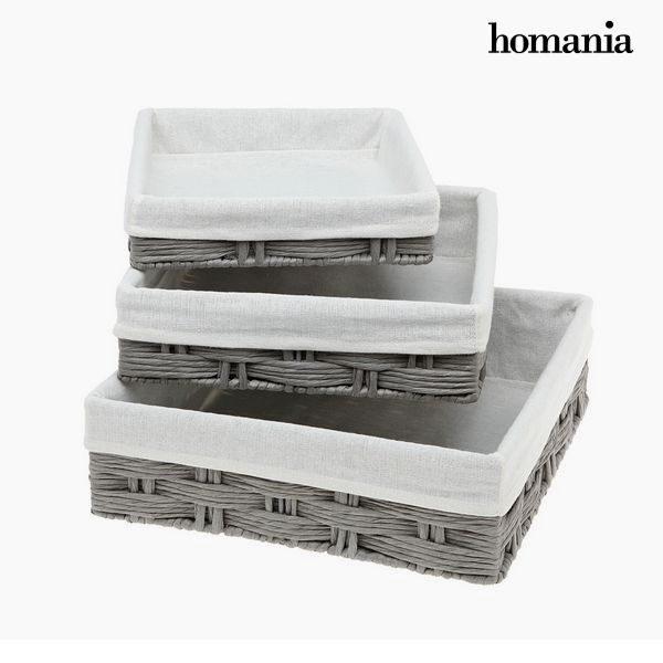 xekios Lot de paniers Homania 3029 (3 pcs)