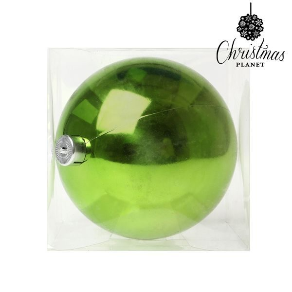 xekios Boule de Noël Christmas Planet 5221 15 cm Plastique Vert