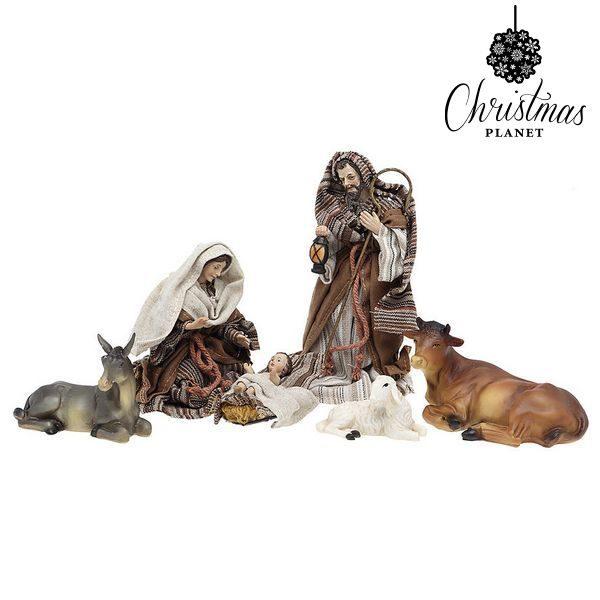 xekios Crèche de Noël Christmas Planet 6784 15 cm (6 pcs)