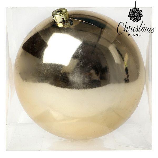 xekios Boule de Noël Christmas Planet 7568 20 cm Doré