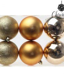 xekios Boule de Noël Christmas Planet 7728 15 cm Rouge