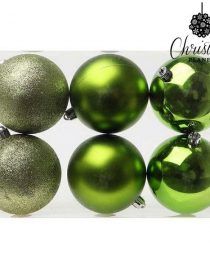 xekios Boules de Noël Christmas Planet 8145 6 cm (12 uds) Argenté