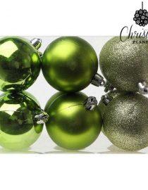 xekios Boules de Noël Christmas Planet 8251 6 cm (12 uds) Violet