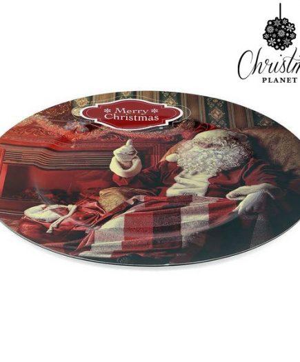 xekios Assiette Décorative Christmas Planet 1154 Père noël