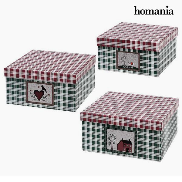 xekios Boîte Décorative Homania 7635 (3 uds) Carton