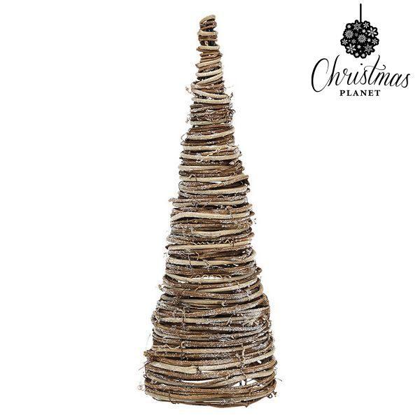 xekios Sapin de Noël Christmas Planet 4021 38 cm Bois Marron