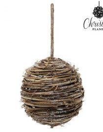 xekios Boules de Noël Christmas Planet 2386 10 cm (2 uds) Verre Doré