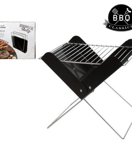 xekios Barbecue Portable BBQ Classics 33085 (30 x 26 x 30 cm) Noir