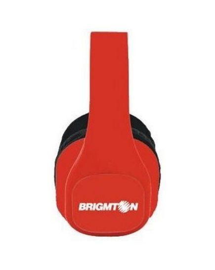 xekios Casque BRIGMTON BAU-M4-R MP3 SD Rouge