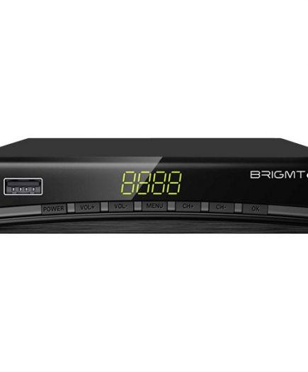 xekios Récepteur TNT BRIGMTON BTDT2-918 Full HD USB HDMI Noir