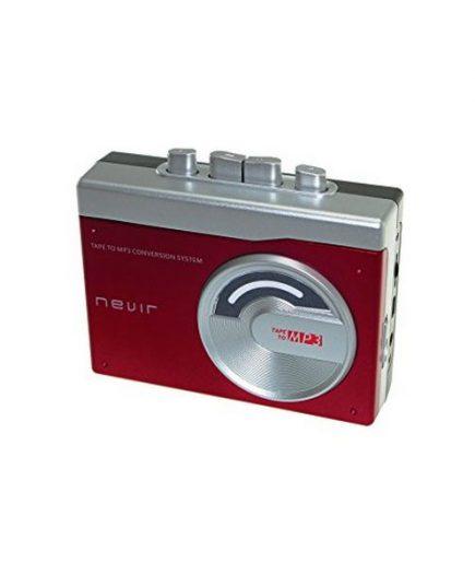 xekios Lecteur convertisseur cassette MP3 NEVIR NVR-417 Rouge