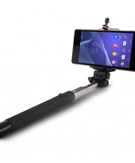 xekios Perche à Selfie Extensible Bluetooth KSIX 45 mAh 5 V Noir