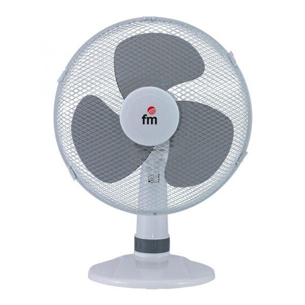 xekios Ventilateur de Bureau Grupo FM S130 40W Blanc