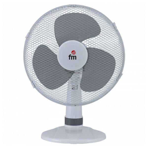 xekios Ventilateur de Bureau Grupo FM S-140 Blanc