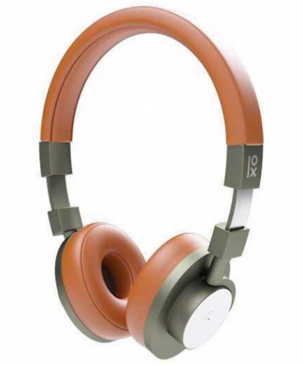 xekios Casques Bluetooth avec Microphone Primux A15 NFC Marron