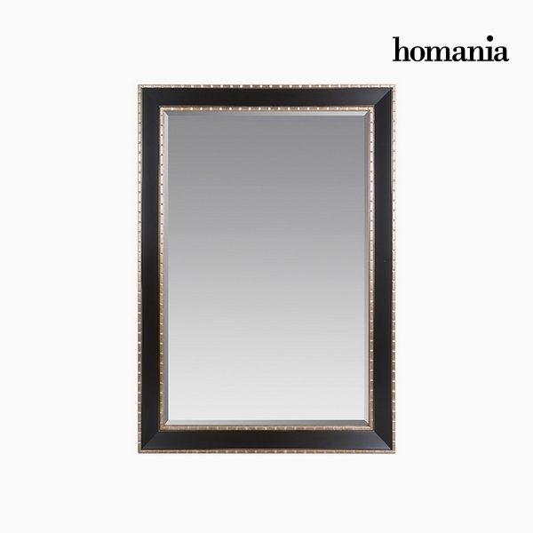 xekios Miroir Résine synthétique Vere biseauté Argent Noir (76 x 3 x 106 cm) by Homania