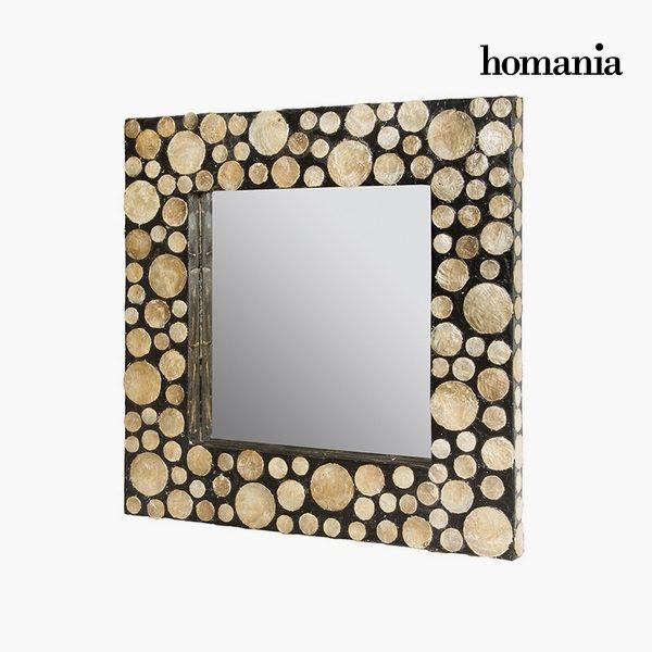 xekios Miroir Nacre noire (54 x 4 x 54 cm) by Homania