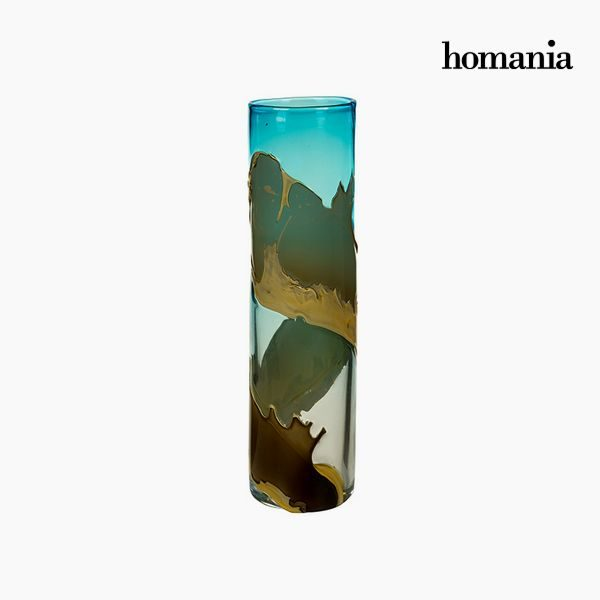 xekios Vase Verre (12 x 12 x 45 cm) - Collection Pure Crystal Deco by Homania