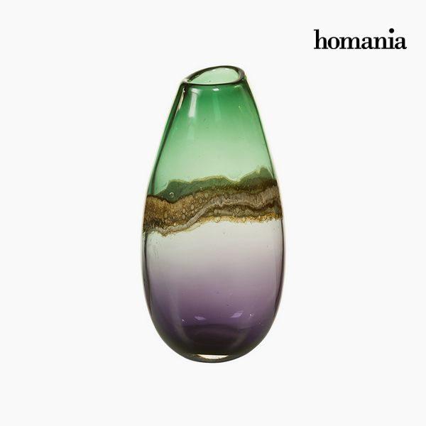 xekios Vase Verre (15 x 13 x 30 cm) - Collection Pure Crystal Deco by Homania