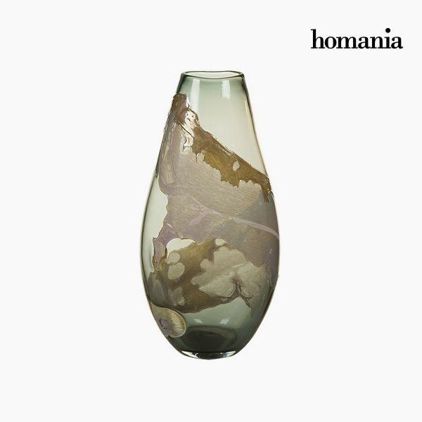 xekios Vase Verre (24 x 16 x 45 cm) - Collection Pure Crystal Deco by Homania