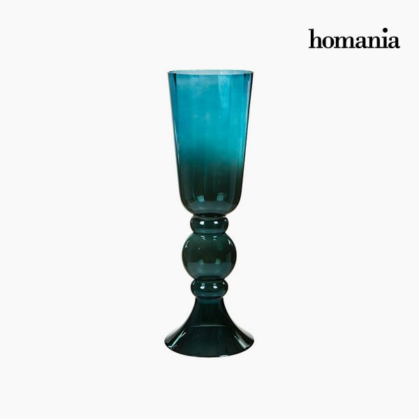 xekios Vase Verre (20 x 20 x 58 cm) - Collection Pure Crystal Deco by Homania