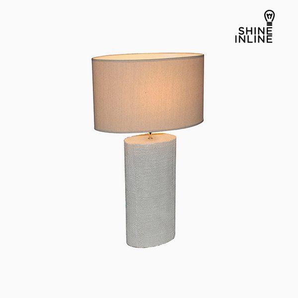 xekios Lampe de bureau Crème (50 x 26 x 71 cm) by Shine Inline