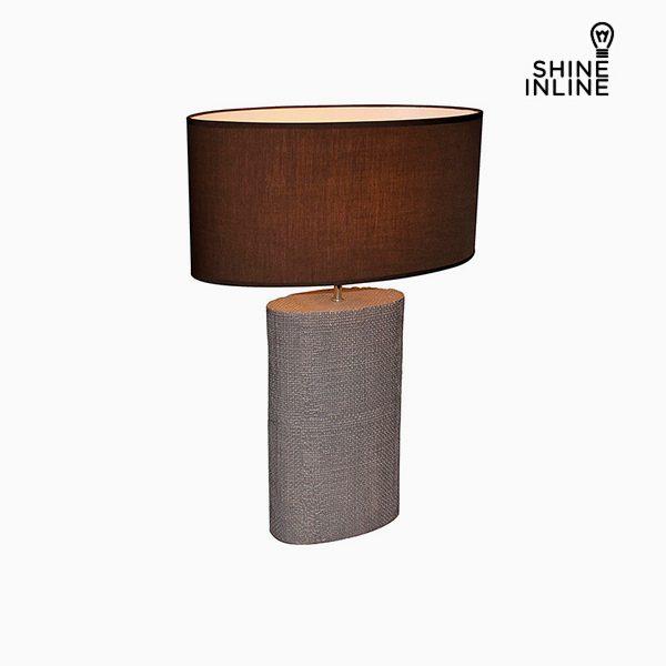 xekios Lampe de bureau Marron (50 x 26 x 71 cm) by Shine Inline