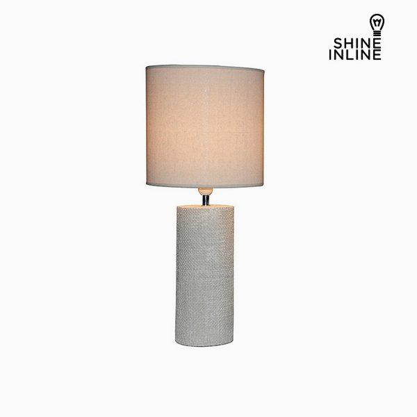 xekios Lampe de bureau Crème (29 x 29 x 70 cm) by Shine Inline