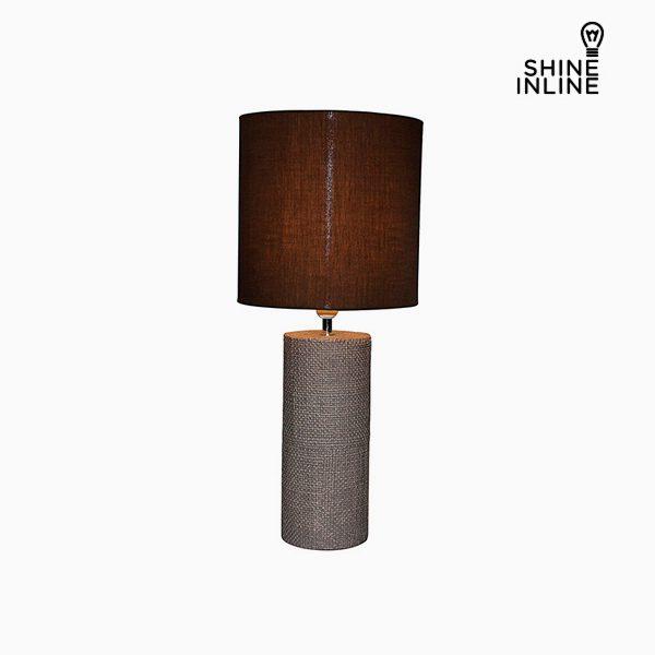 xekios Lampe de bureau Marron (29 x 29 x 70 cm) by Shine Inline