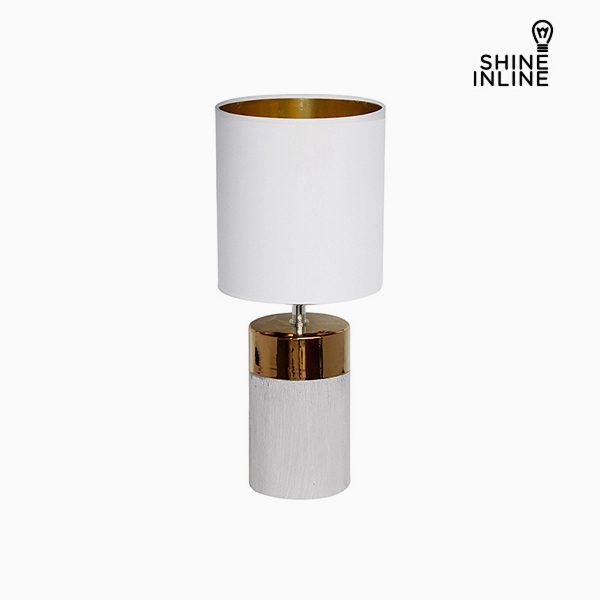 xekios Lampe de bureau Blanc (19 x 19 x 48 cm) by Shine Inline
