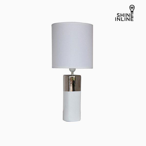 xekios Lampe de bureau Blanc (24 x 24 x 57 cm) by Shine Inline