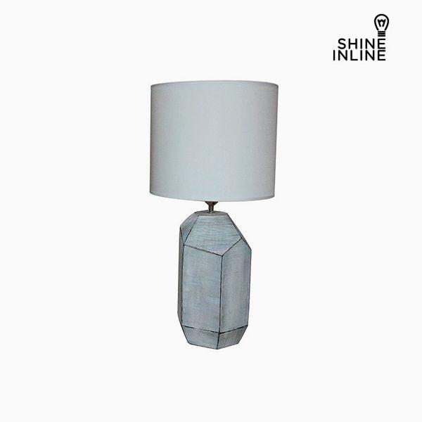 xekios Lampe de bureau Blanc (30 x 30 x 61 cm) by Shine Inline