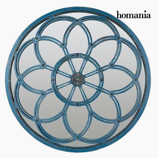 xekios Miroir Rond Bleu - Collection Modern by Homania