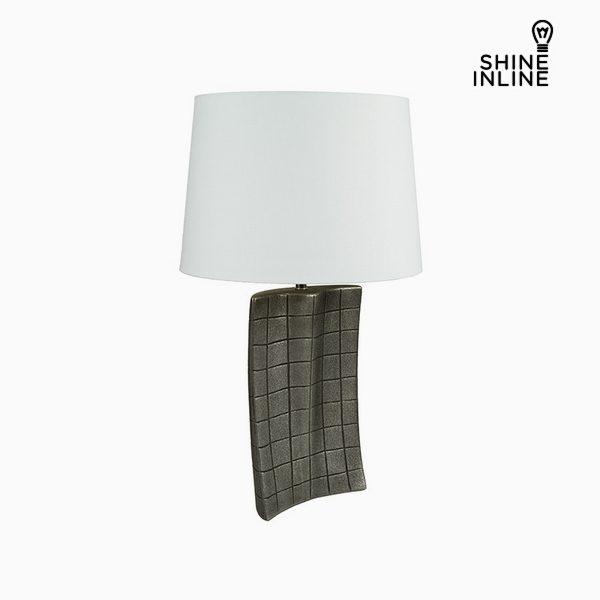 xekios Lampe de bureau Argent Céramique (34 x 9 x 61 cm) by Shine Inline