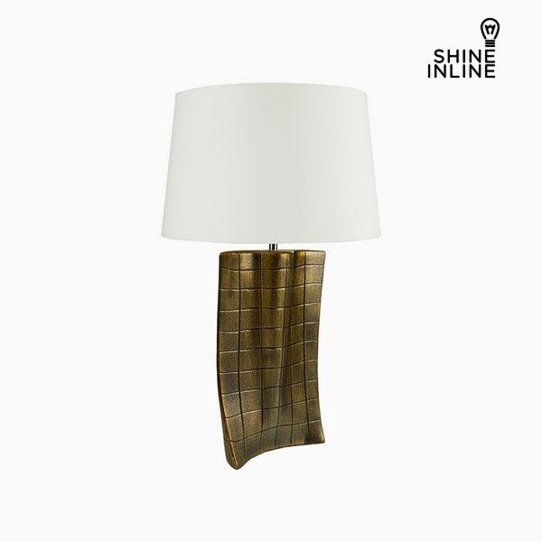 xekios Lampe de bureau Or Céramique (40 x 9 x 66 cm) by Shine Inline